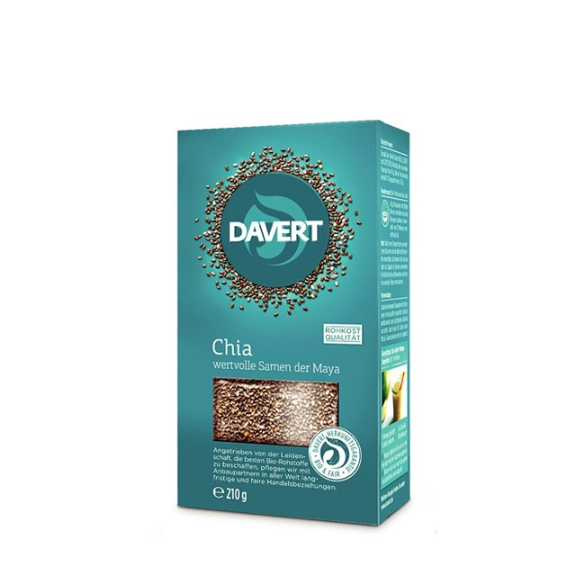 davert-chia-samen-seeds-bio-organic-210g