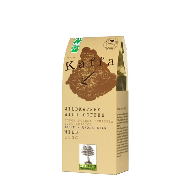 Kaffa-mild-ganze-Bohne-250g
