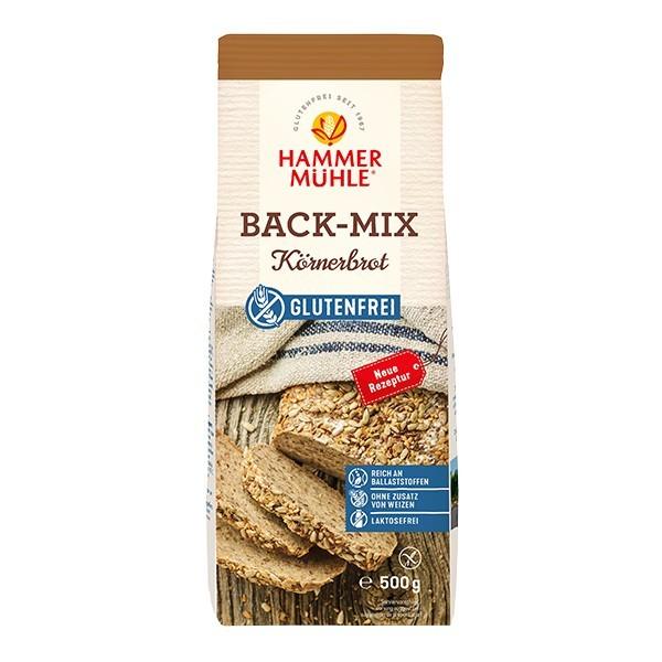 Hammermühle : Glutenfreier Back-Mix Körnerbrot (500g)