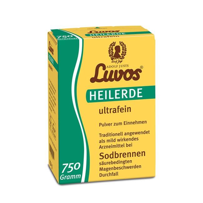 LUVOS 750g ultrafeine Heilerde gegen Völlegefühl