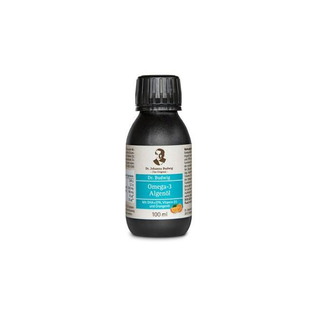 Dr. Budwig Omega 3 Algenöl, bio (100ml)