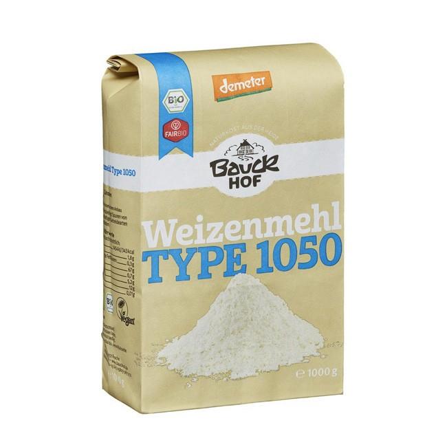 Bauckhof Weizenmehl Type 1050 Demeter Qualität (1kg)