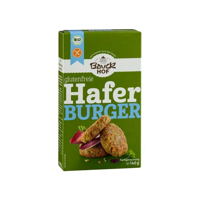 Glutenfreie Hafer Burger Fertigmischung, rein pflanzlich 140g
