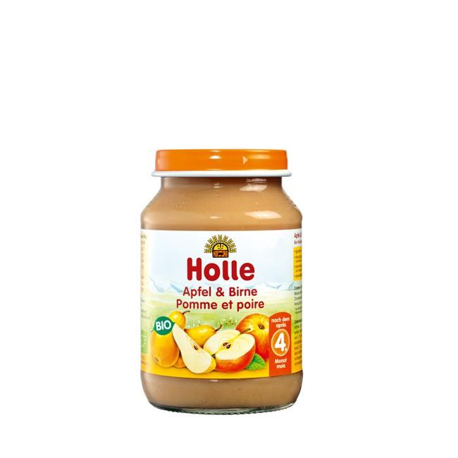 holle-apfel-birne-obstglas-demeter-190g