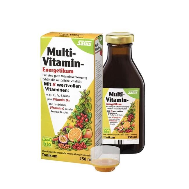 SALUS Multivitamin Energetikum 250ml - alkoholfrei, glutenfrei