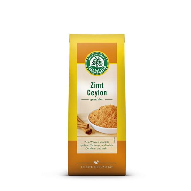 feiner Bio Ceylon Zimt von Lebensbaum (Nachfüllpack - 50g)