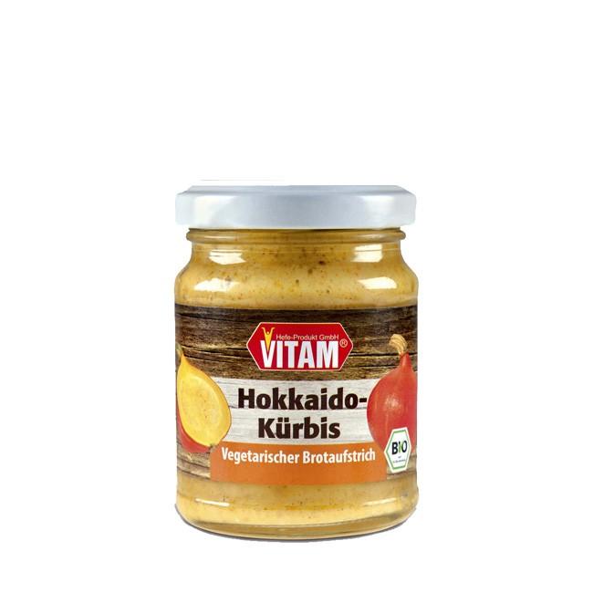 Vitam glutenfreier vegan Hokaido Brotaufstrich 125g Glas