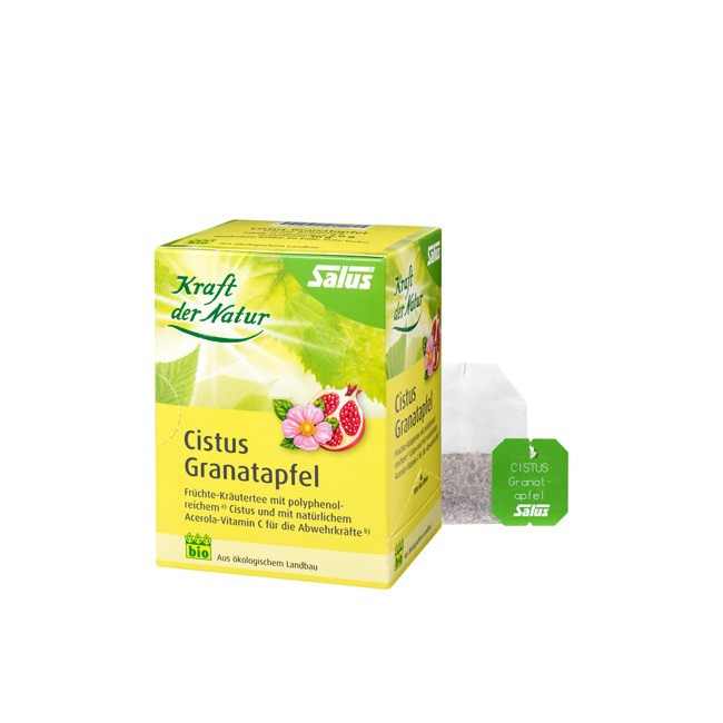 Salus: Cistus Granatapfel Tee (15 Teebeutel) bio