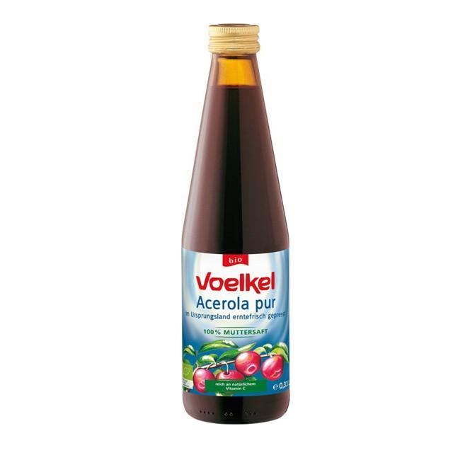 Voelkel Acerola Saft pur, bio 0,33l