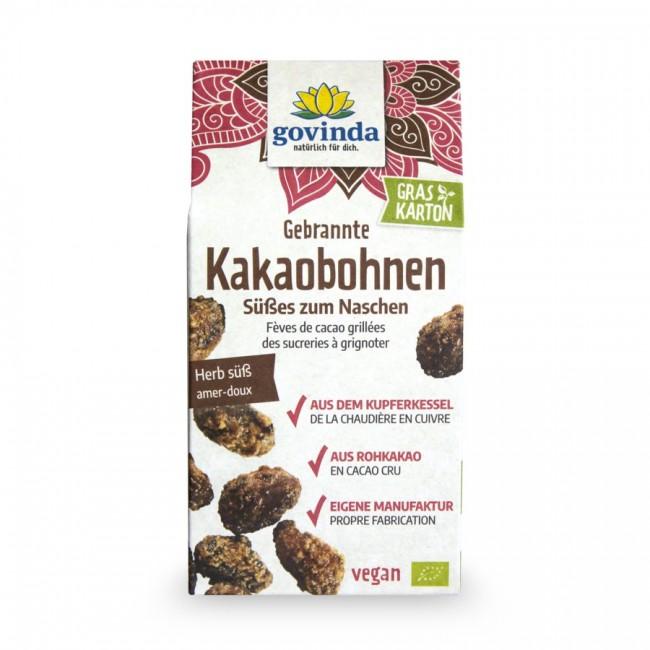 Govinda Karamellisierte Kakaobohnen bio 100g