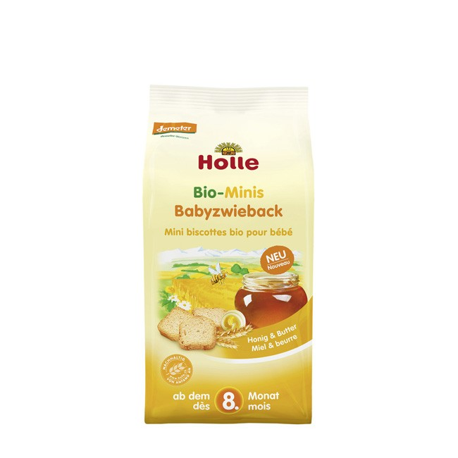 Bio Babyzwieback von Holle 100g