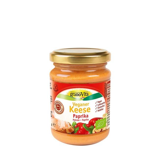 granoVita Keese Paprika 170g ökologischer Brotauftrich oder Backzutat