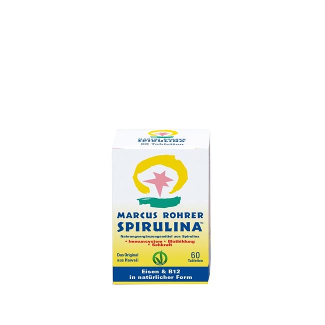 Kleine Packung (60) Spirulina Mikroalgen Tabletten