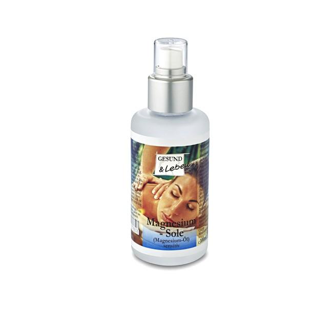 Magnesium Sole Öl zur äußerlichen Anwendung (100ml) von Gesund und Leben