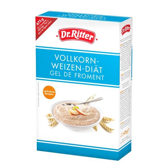 Dr. Ritter Vollkorn Weizen Diät - 675g sind ausreichend für 3 Diättage