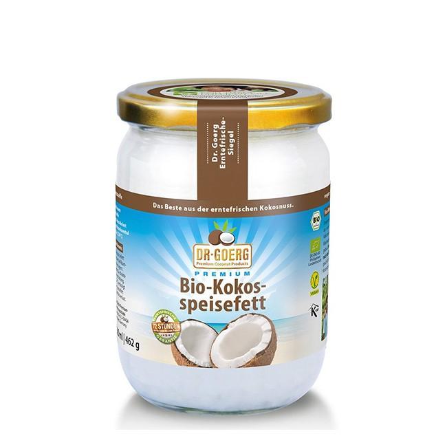 Bio Kokosspeisefett (500ml) von Dr. Goerg in Premium Qualität