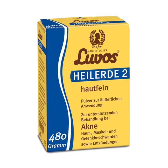 Heilerde Hautfein 2 von LUVOS 480g Pulver