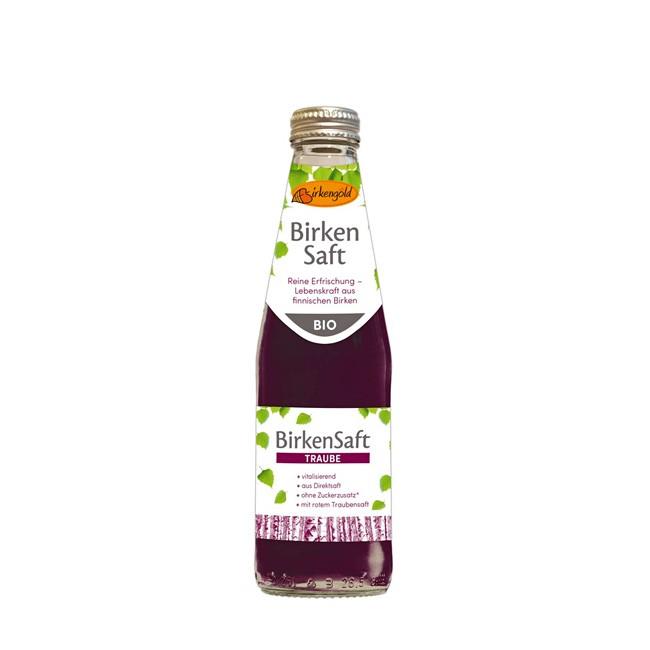 Bio Birkensaft mit 40% Traubensaft - erfischend lecker von Birkengold