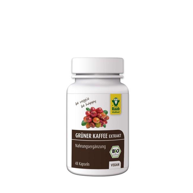 Raab Grüner Kaffee Extrakt, bio 48 Kapseln