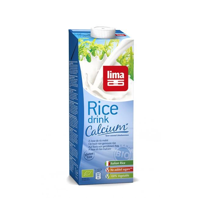 Lima: Reisdrink+ Calcium, natürlich bio,1l