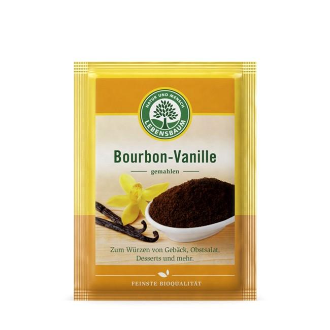 Bio Vanille gemahlen in der Tüte von Lebensbaum - Bourbon Vanillepulver