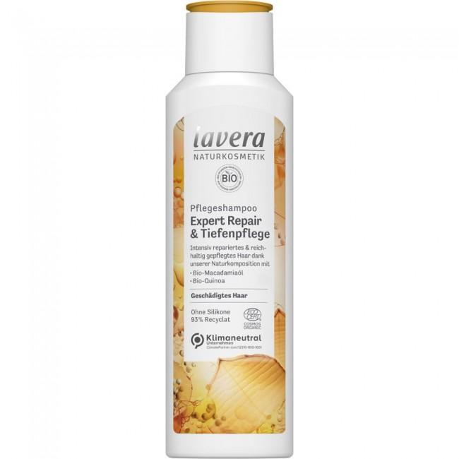 Lavera : Pflegeshampoo Expert Repair & Tiefenpflege (250ml)