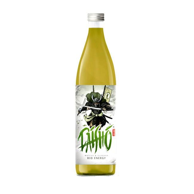 Weckt den Samurai in Ihnen - Daisho Matcha Energy Drink von Attila Hildmann - vegan, glutenfrei