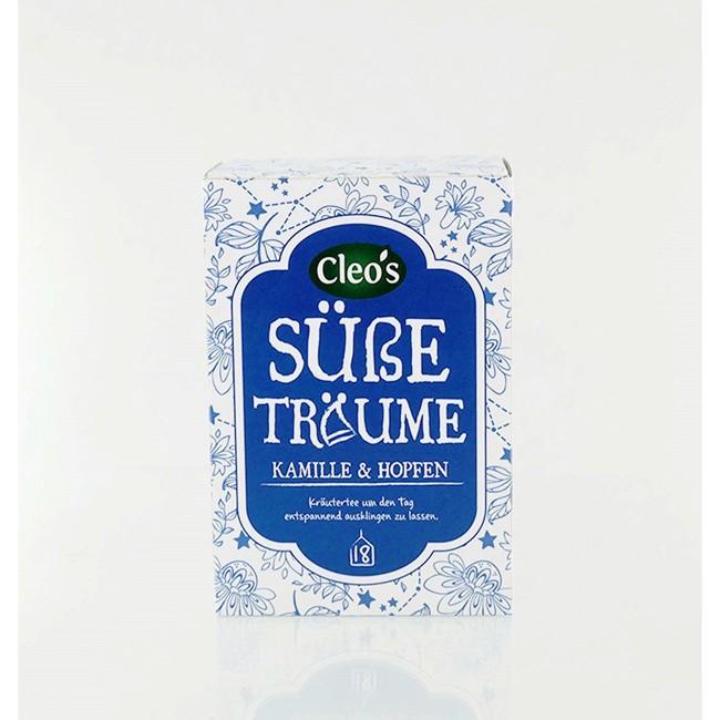 Cleo's Süße Träume Biologischer Tee (18 Beutel)