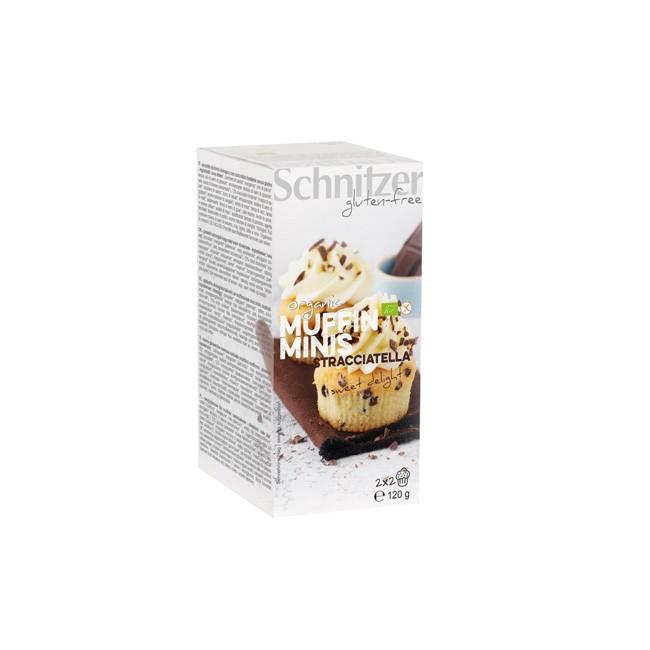 Schnitzer Stracciatella Muffin Minis Bio und Glutenfrei 120g