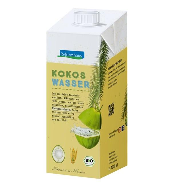 Reformhaus : Kokoswasser, bio (1l)