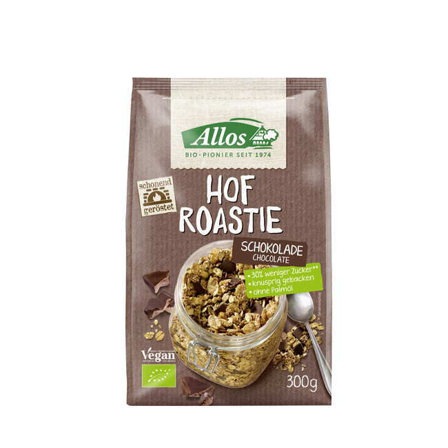 Allos Hof Roastie bio und vegan