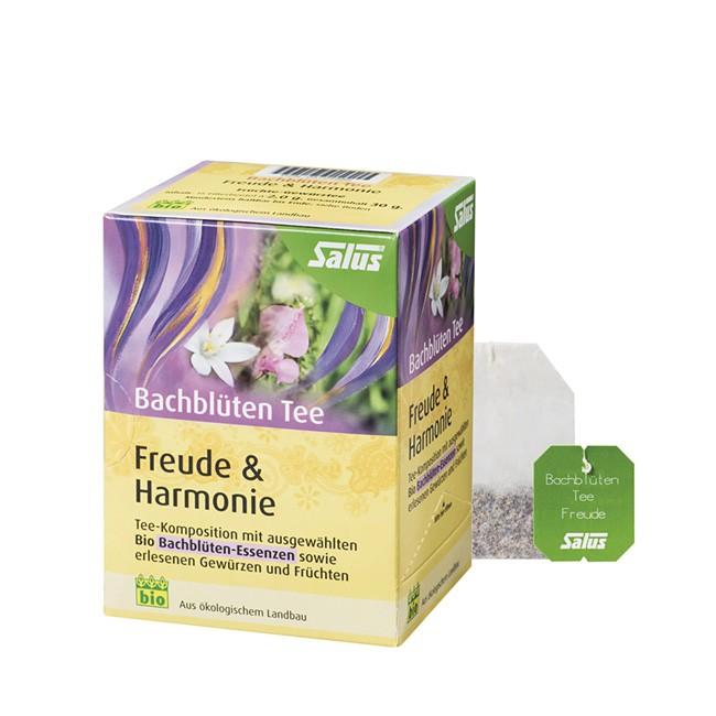 Bachlütentee in Bio Qualität von SALUS - 15 Teebeutel Freude und Harmonie