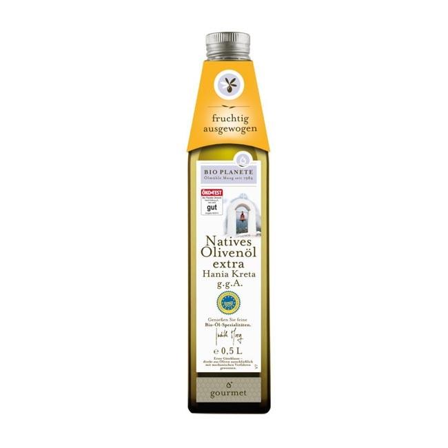 Bio Planète Olivenöl Hania Kreta g.g.A. nativ extra, bio 500ml