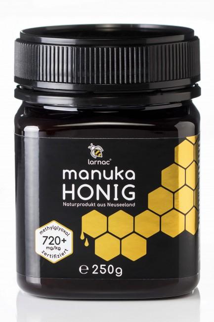 Manuka Honig 720+ aus Neuseeland (250g) von Larnac