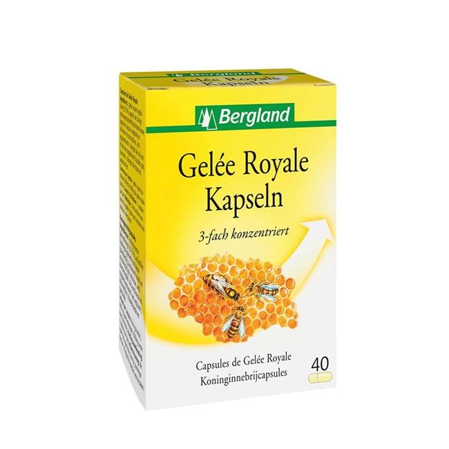 Bergland Gelee Royale Kapseln zur Nahrungsergänzung und Immunstärkung