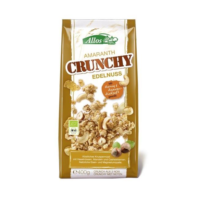 Allos Amaranth Crunchy Edelnuss, bio (400g