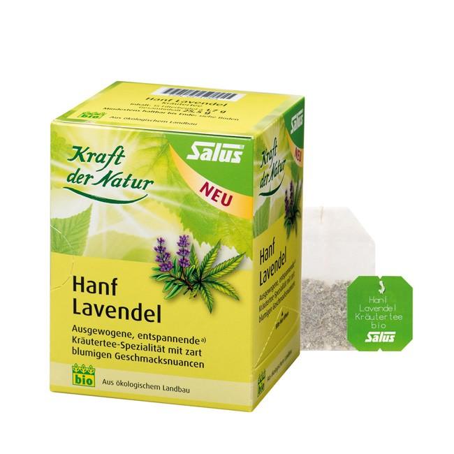 Salus Hanf Lavendel Kräutertee 15 Teebeutel (25,5g) Bio