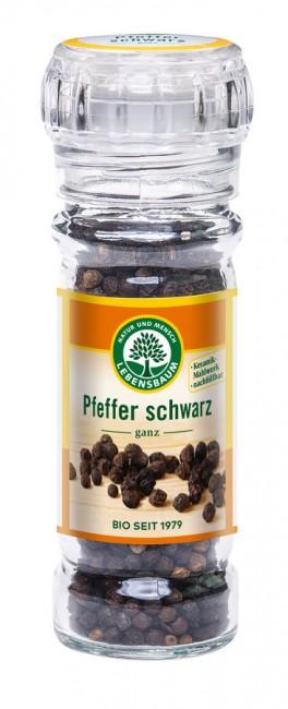 Lebensbaum : Pfefferkörner schwarz in der Mühle, bio (45g)