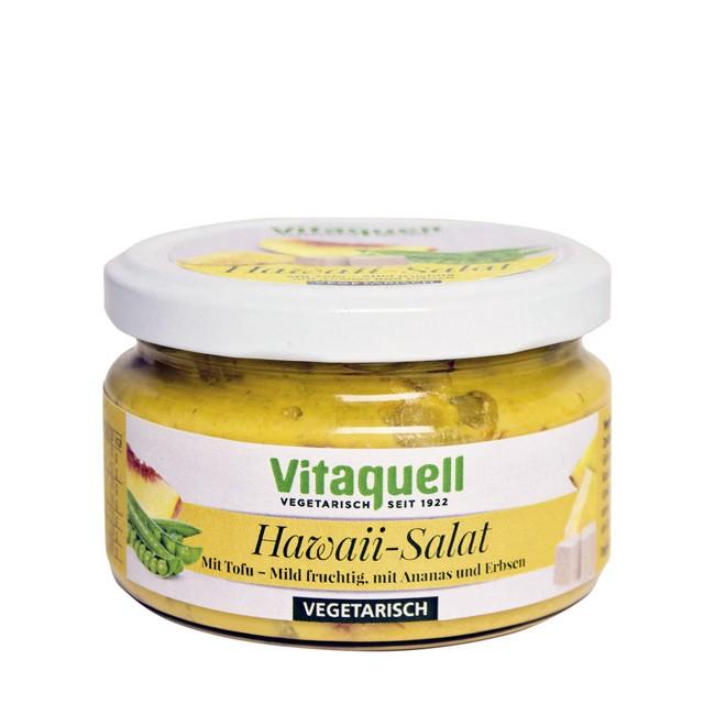 Vegetarischer Hawaii Salat mit Tofu 250ml von Vitaquell