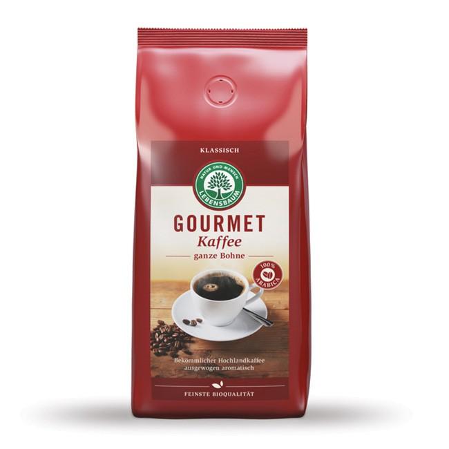 1kg Gourmet Kaffee Bio Bohnen von Lebensbaum