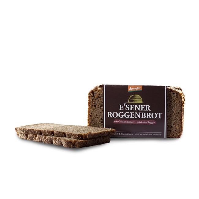 bekömmliches Essener Roggenbrot geschnitten von Härdtner (500g) - mit Natursauerteig und gekeimten Roggen
