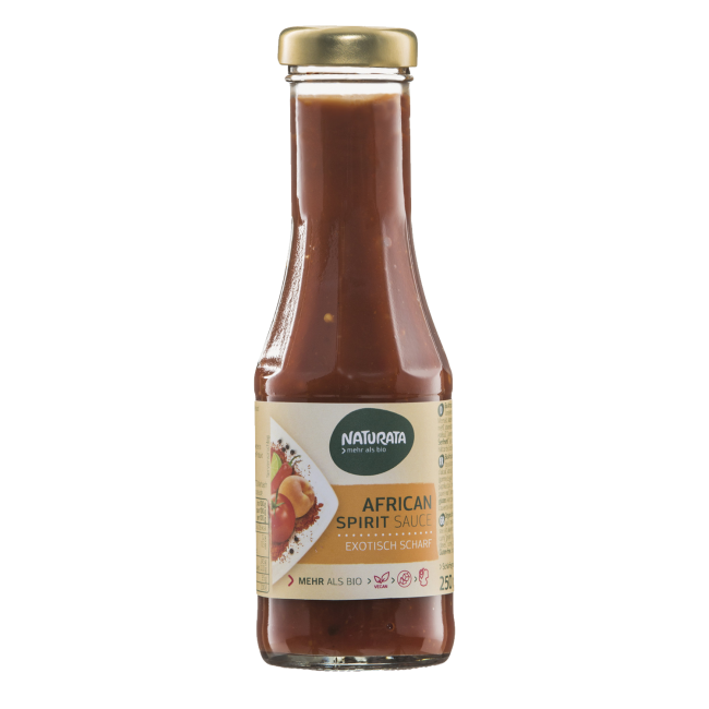 Naturata : African Spirit Sauce, bio (250ml)