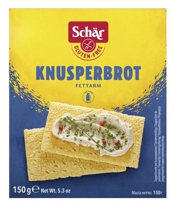 Dr. Schär : Knusperbrot, glutenfrei (150g)