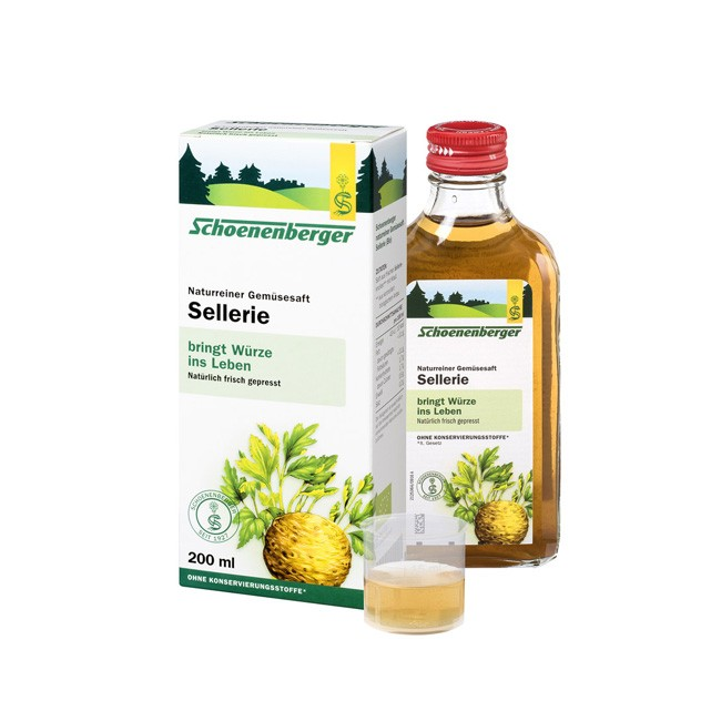Schoenenberger : Gemüsesaft Sellerie, bio (200ml)**
