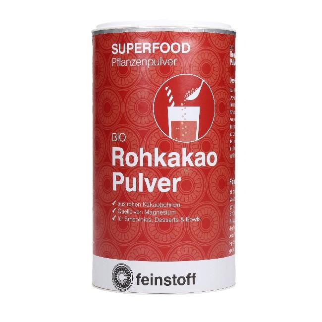Rohkakao Pulver 140g von Feinstoff - bio