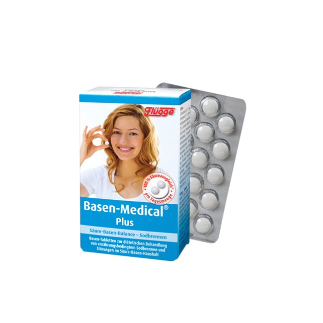 Flügge : Basen-Medical® Plus, Basen-Tabletten (120 Stk)