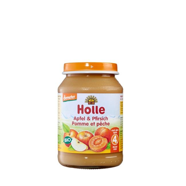 holle-apfel-pfirsich-obstglas-190g