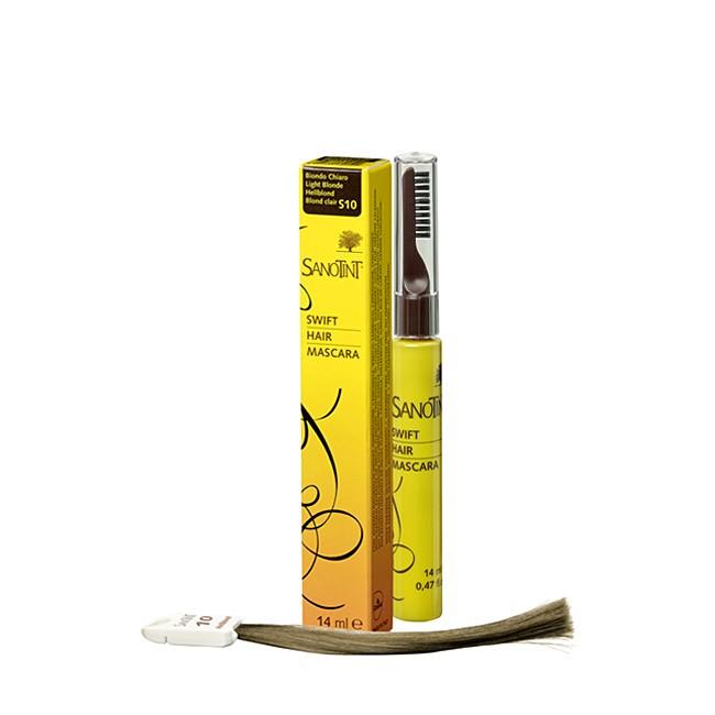 Sanotint Hair Mascara S10 Hellblond - Ansatz Coloration in Naturfarben