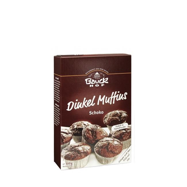 Dinkel Schoko-Muffins von Bauckhof