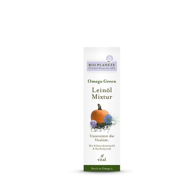 Bio Planète Omega Green Leinöl-Mixtur, bio 100ml